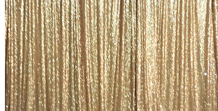Gold Sequin Backdrop 3 by 1.5 m