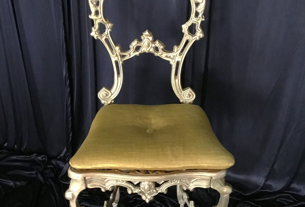 Antique Gold Chair Elizabeth