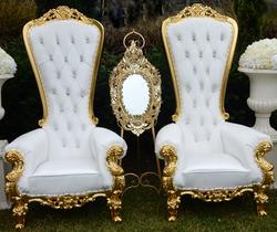 Mr  Mrs Throne chair