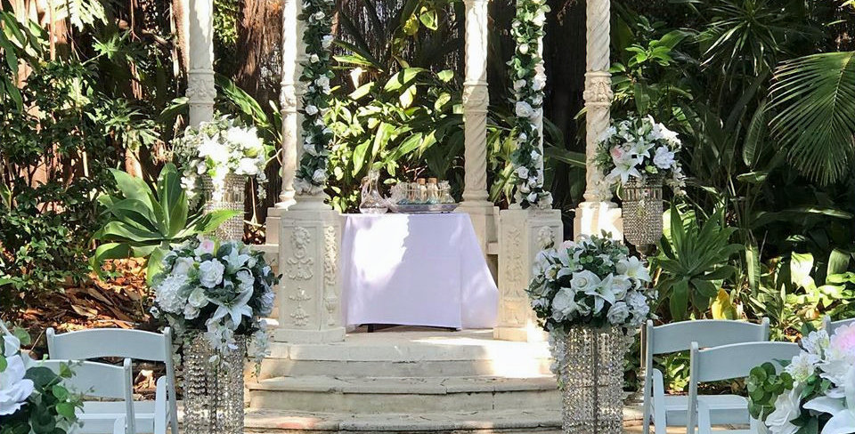 Bouleward Gardens Ceremony Package