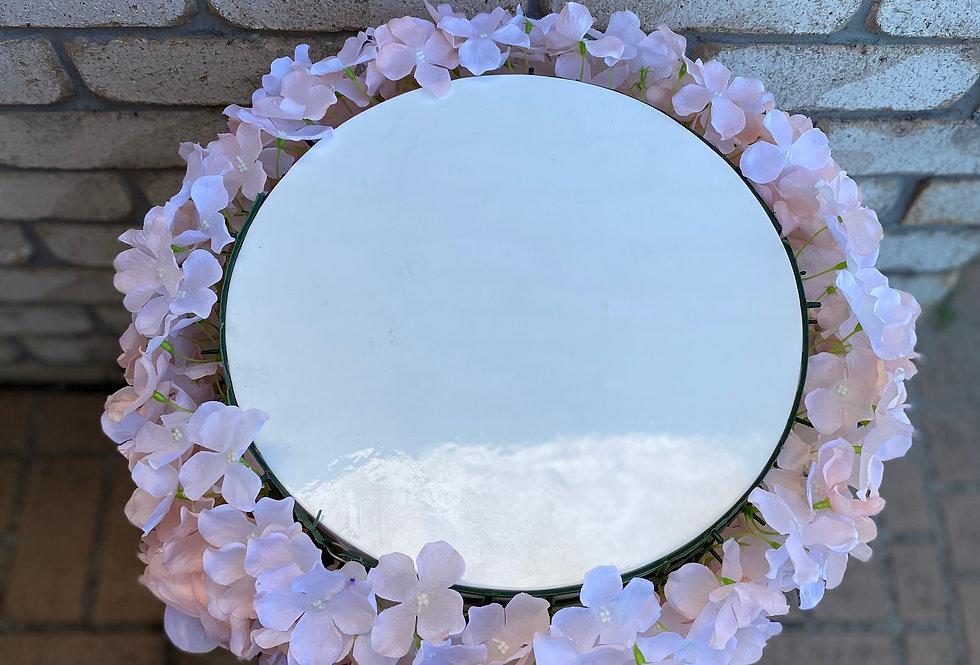 Floral  Round  Plinth 70 cm