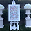 Thumbnail: Pedestal and Urn with Flower arrangement