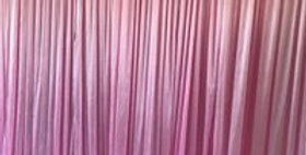 Pink  Plain Backdrop  from 3m by 3m