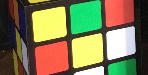 Rubik's Cube Plinth