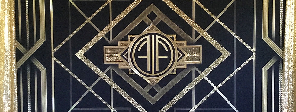 Great Gatsby Backdrop 2.3 by 2.4 m / Double Sided