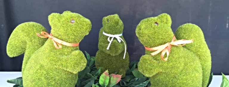 Artificial grass Squirrel 20 cm
