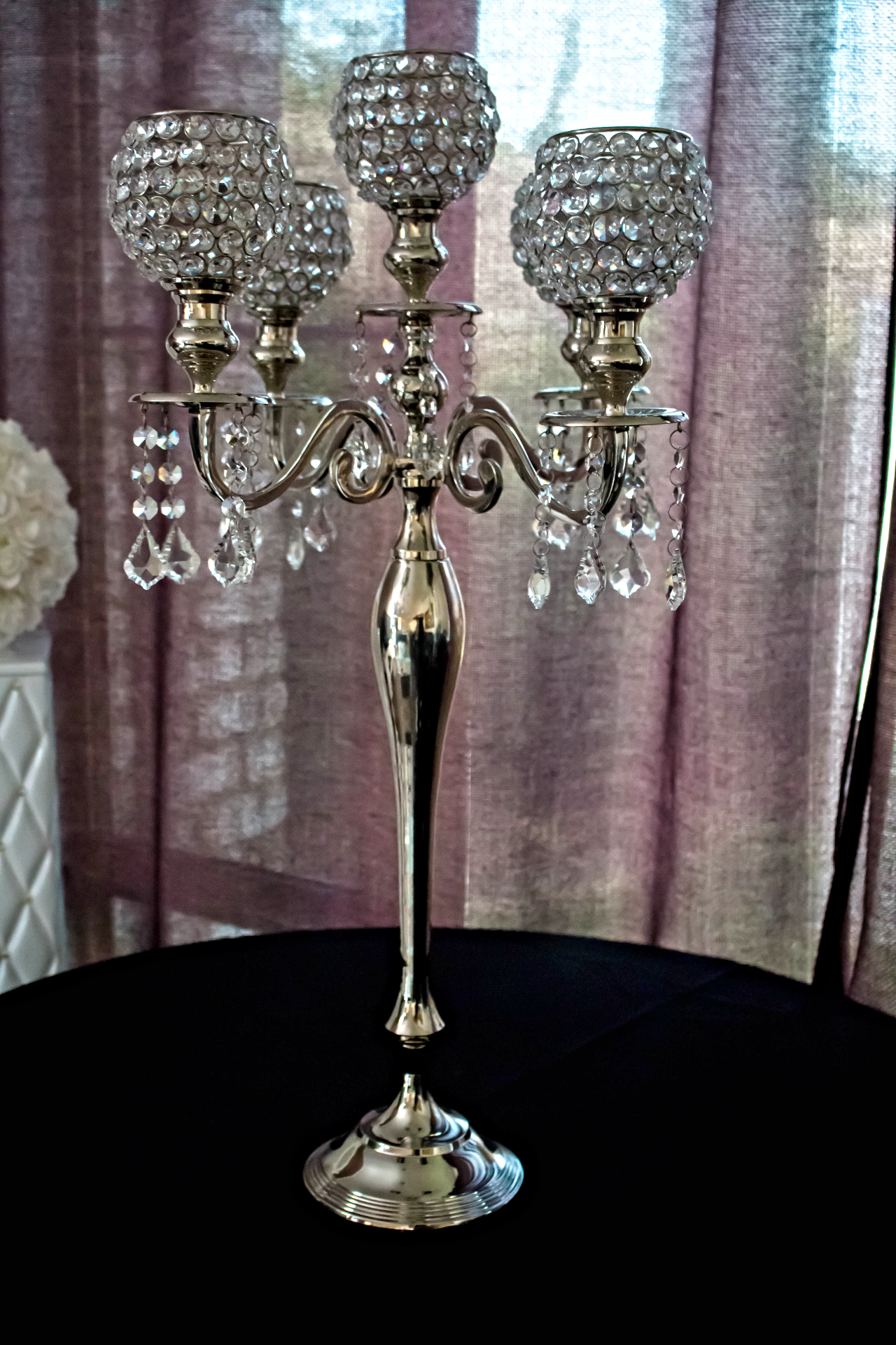 Real Egyptian crystal centerpiece
