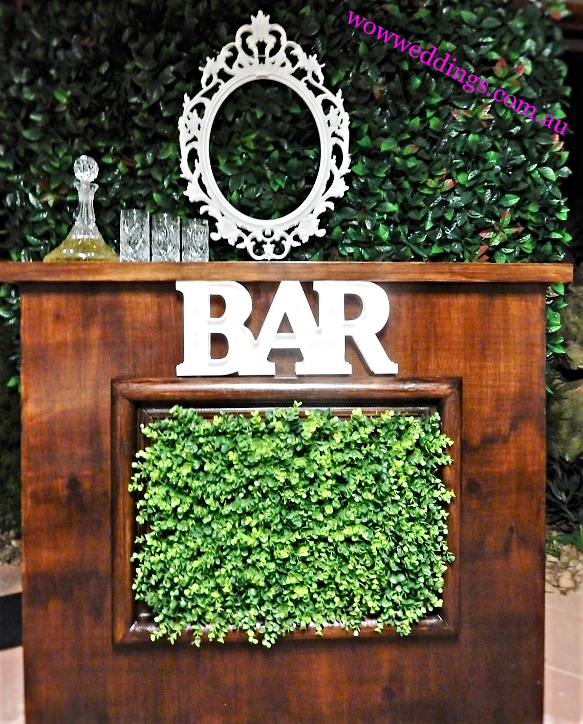 Drink bar , custom made