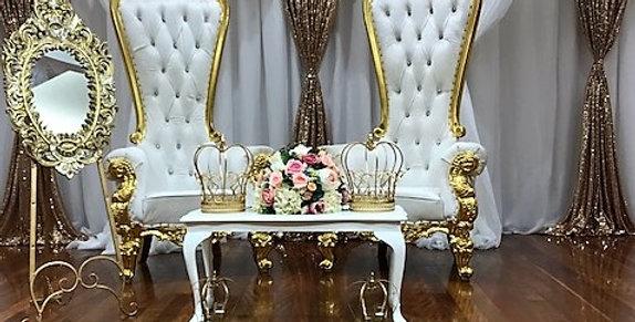 Wedding Stage Package Goldilocks