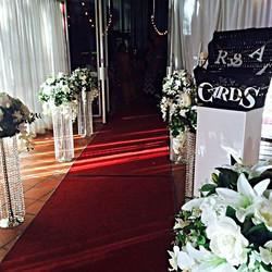 Brisbane wedding centerpieces