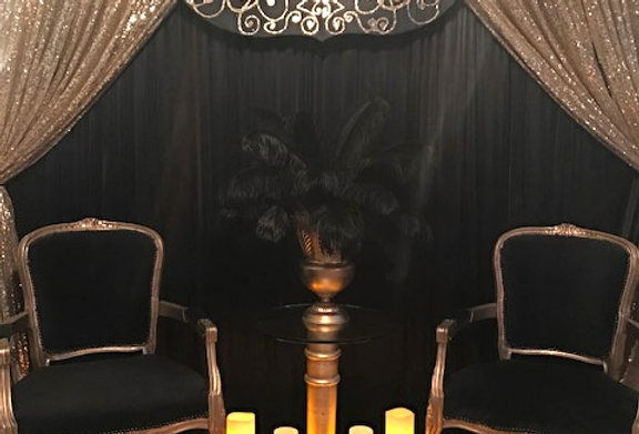 Black & Gold Masquerade Package