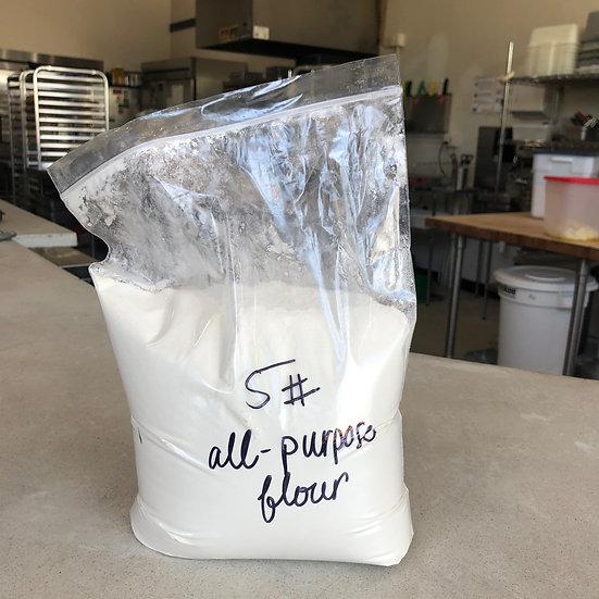 Flour, All-purpose (unbleached) - 5 lb