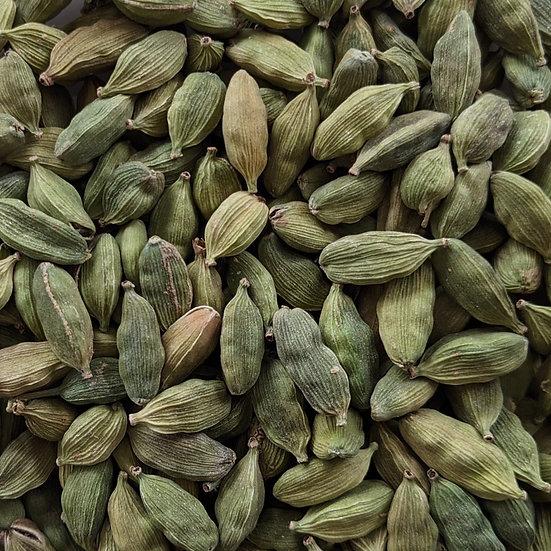 Spices, Cardamom (green pods) - 2 oz