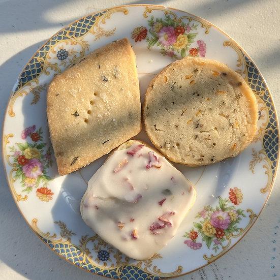 Shortbread Trio - 1 dozen