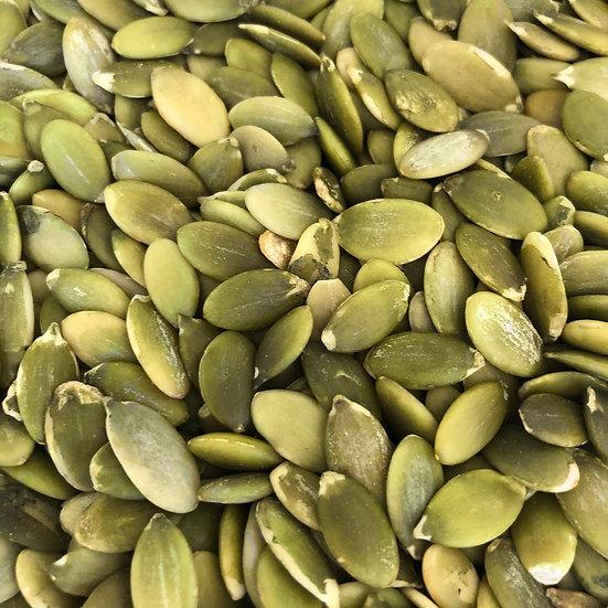 Seeds, Pepitas (organic, raw, shelled) - 8 oz
