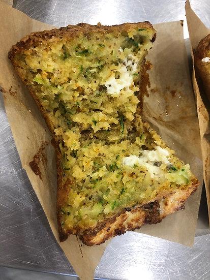 Zucchini Cornmeal Muffin