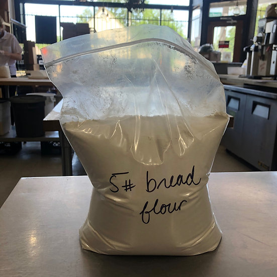 Flour, Bread, Hi-gluten (organic) - 5 lb