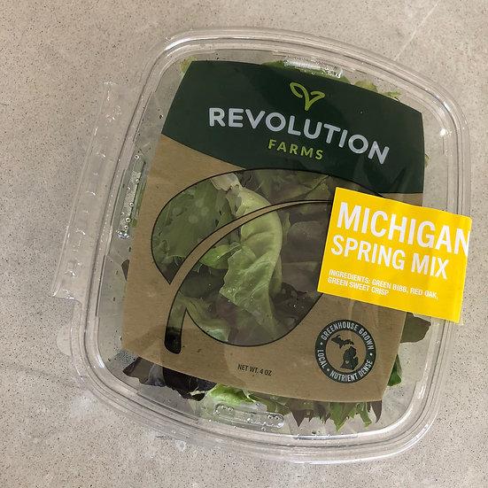 Salad greens (spring mix) - 4 oz