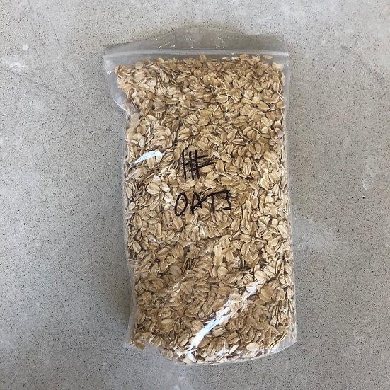 Rolled oats (organic) - 1 lb