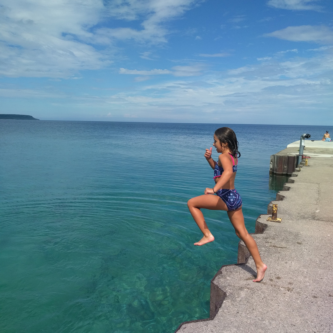 Swimming Dyers Bay