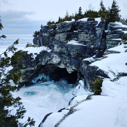 winter Grotto