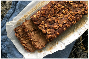 Lightly Sweet & Simple Banana Bread