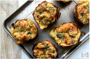 Spinach & Parmesan Breakfast Cups