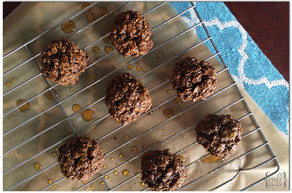 Maple-Glazed Oatmeal Spice Cookies