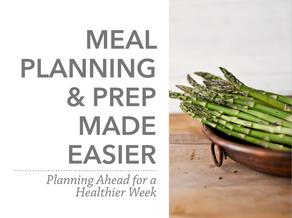 Meal Planning & Prep Made Easier