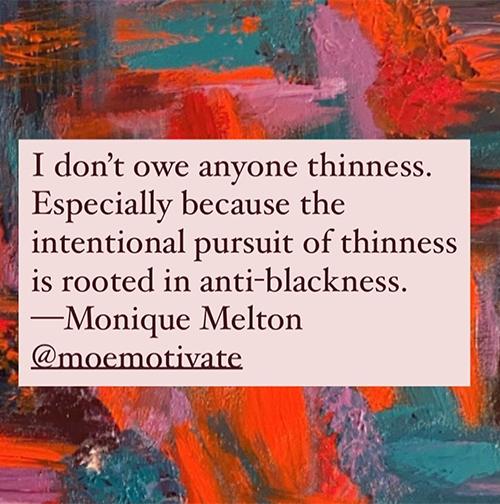Monique Melton   @ moemotivate
