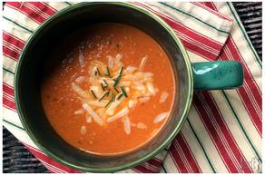 Tomato & Parmesan Soup