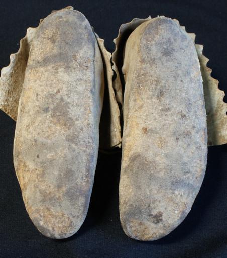 1900 Osage Indian Childs Moccasins