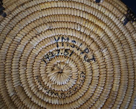 1910 Cahuilla Mission Basket