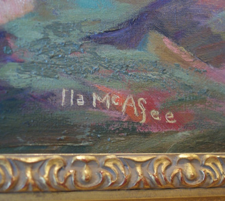 "Ila McAfee Taos N.M. ""Antelope"" Ila McAfee 1897-1995"