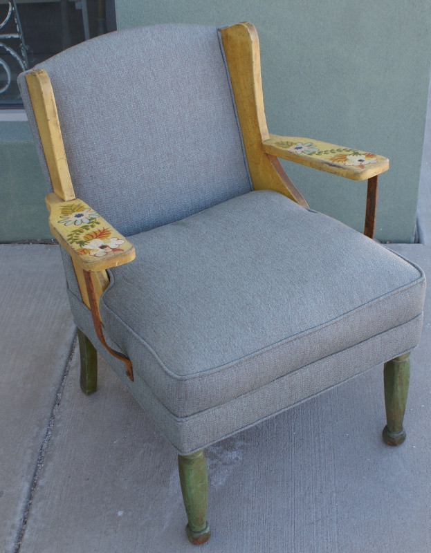Rare Monterey Wing Chair