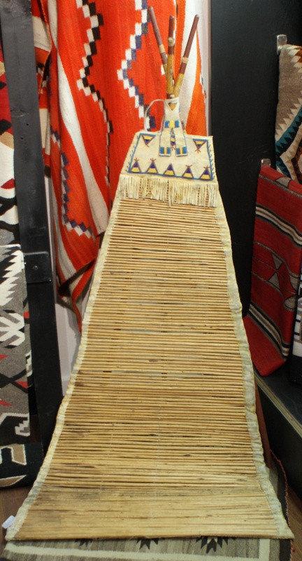 Antique Sioux Indian Teepee Back Rest