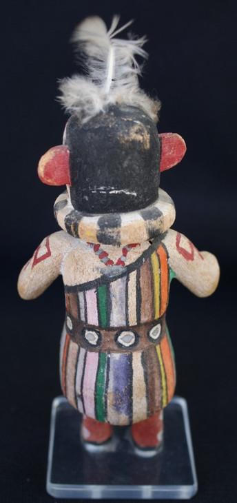 1940's Hopi Indian Heheya-Aumutaqa - Heheya's Uncle Katsina/Kachina cottonwood doll