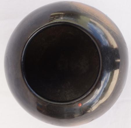 Barbara Gonzales Tahn Moo Whe San Ildefonso Pueblo Pottery Pot W/ Birds