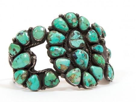 Turquoise & Silver Bracelet