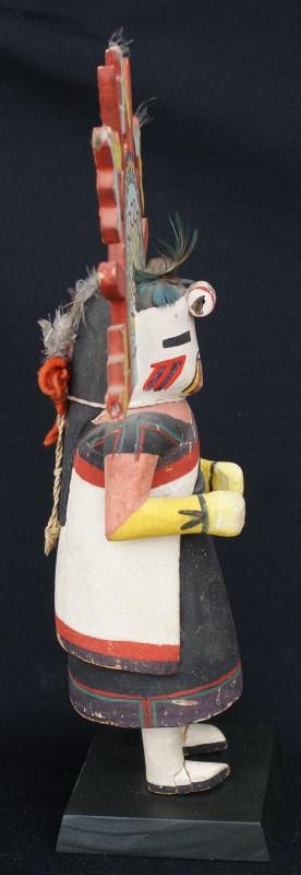 Hopi Pueblo Polik Mana Kachina Cottonwood Doll Artist Unknown