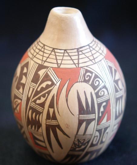 Antoinette Howie Hopi Pueblo Polychrome Pottery Jar Antoinette Howie
