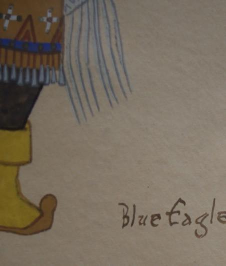 Acee Blue Eagle Apache Gaan Dancer Acee Blue Eagle 1907-1959