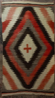 Navajo Transitional Weaving Circa 1890's