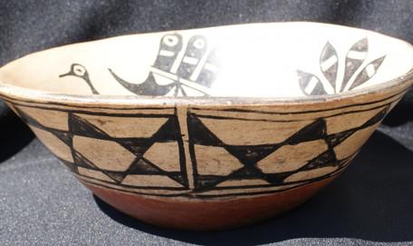 1910 Cochiti/ Santo Domingo Pueblo Bowl Artist Unknown