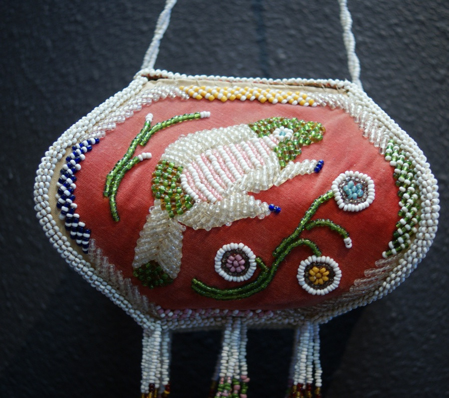 Antique Iroquois Indian Beaded Whimsy 1920's