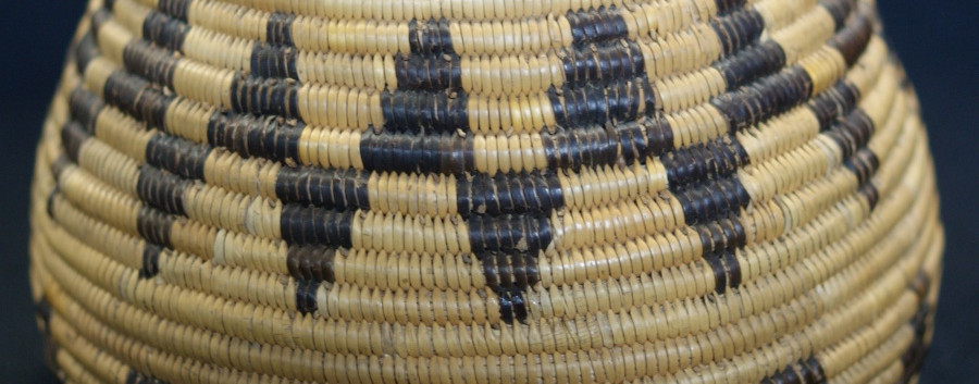1910 Cahuilla Mission Basket 1910 Cahuilla Mission Basket
