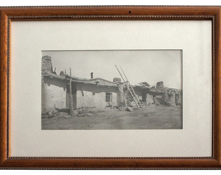 Photograph of an American Indian Pueblo
