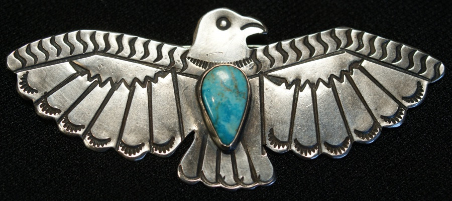 Navajo Eagle Pin Artist Unknown