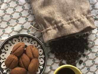 Coffee bean and Cinnamon Cookies