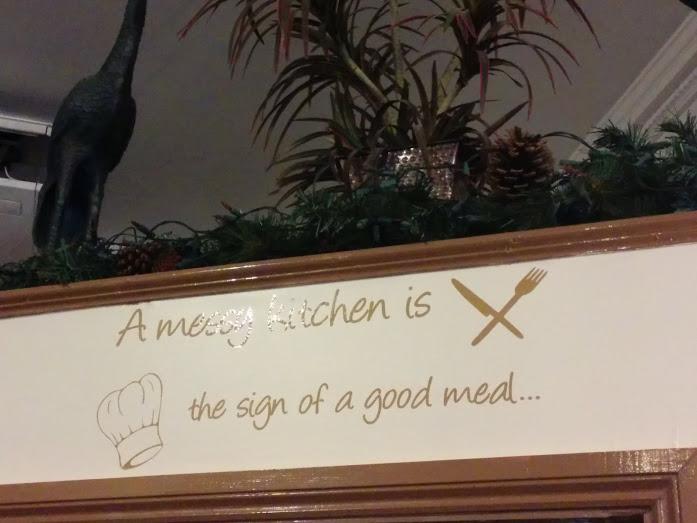 Sign at a restaurant in Windsor